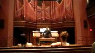 Super Mario, Tetris, Zelda, Star Wars on pipe organ