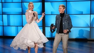 The Premiere of Ellen and Gwen Stefani's HIT Holiday Songs!
