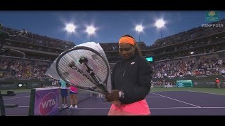2015 Serena Williams Walks On To Standing Ovation