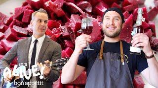 Brad Makes Beet Kvass   It's Alive   Bon Appétit