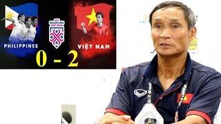 HLV Mai Đức Chung: ĐTVN sẽ chiến thắng Philippines vào chiều nay