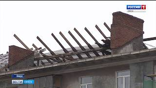 К российско-казахстанскому форуму успели отремонтировать меньше половины фасадов домов