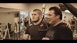 """UFC 220: EP.4 - Khabib on Weight Cutting -""""When you cutting weight, last day is very hard."""""""