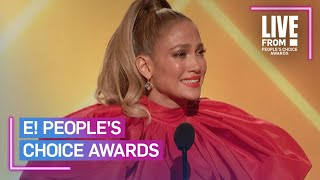 Jennifer Lopez Surprised by Nicole Kidman & More at 2020 PCAs   E! People's Choice Awards