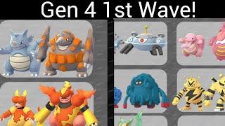Generation 4 Leak! Gen 1 Evolutions First With Sinnoh Stone!