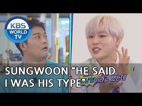 Hyunmoo once confessed his love to Sungwoon? [Happy Together/2018.11.29]