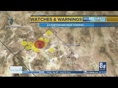 Earthquake coverage 5:30am