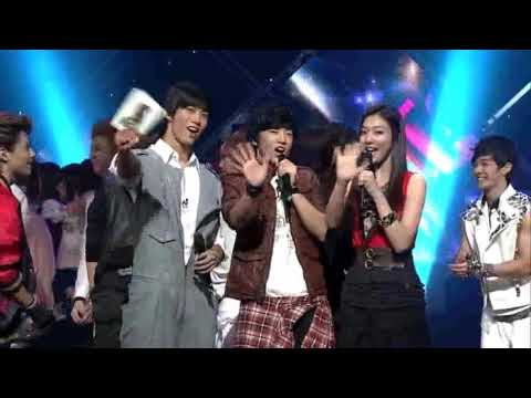 [HD] 091108 Today's Winner is SHINee f(x) & Lee Teuk (SJ) - Ring Ding Dong