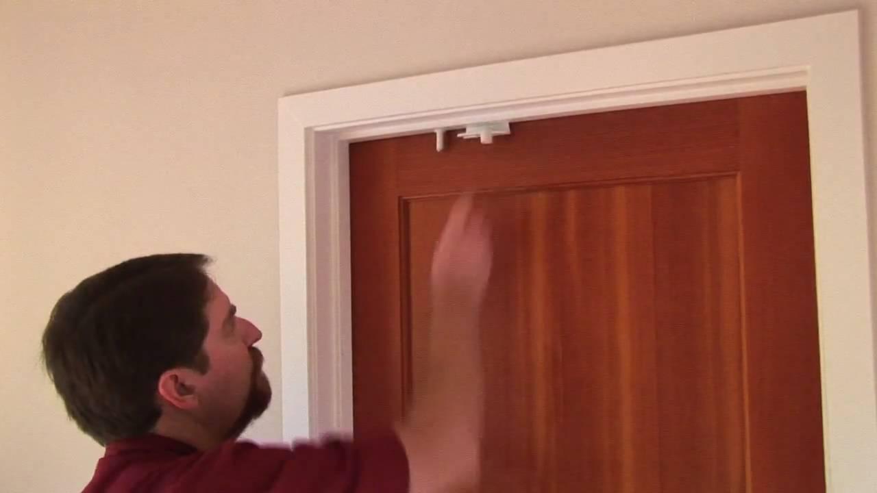 Baby Proof With The Door Top Lock Youtube