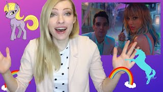 TAYLOR SWIFT & BRENDON URIE - ME! [Musician's] Reaction & Review!