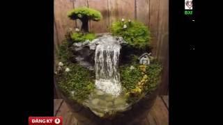 Cách tạo ra một khu vườn thu nhỏ huyền diệu cho nhà bạn | Mẫu sân vườn đẹp có 1 không 2