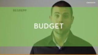 Starta företag tillsammans - Budget