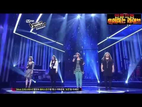 보이스코리아1 TOP4(손승연,유성은,우혜미,지세희) - Stand up for you
