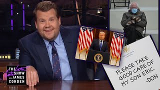 The Trumps Are Out, The Bidens Are In - Corden Catch-Up