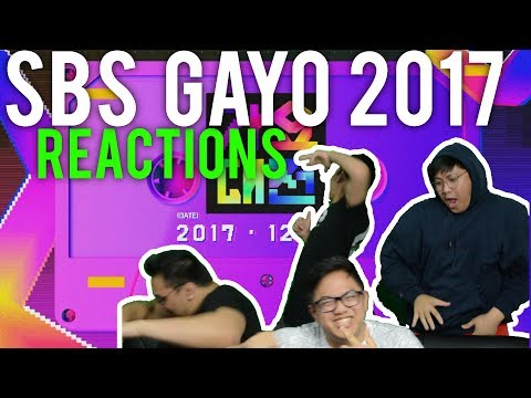 SBS GAYO DAEJUN 2017 (Reactions)