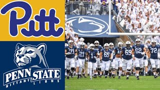 Pitt vs #13 Penn State Highlights | NCAAF Week 3 | College Football Highlights