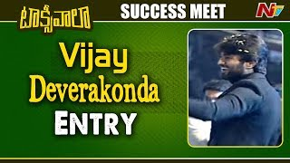 Vijay Deverakonda entry at Taxiwala success event..