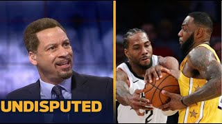 """UNDISPUTED   Chris Broussard Claim that Clippers """"No Hope"""" with Lakers as NBA resumes this week"""