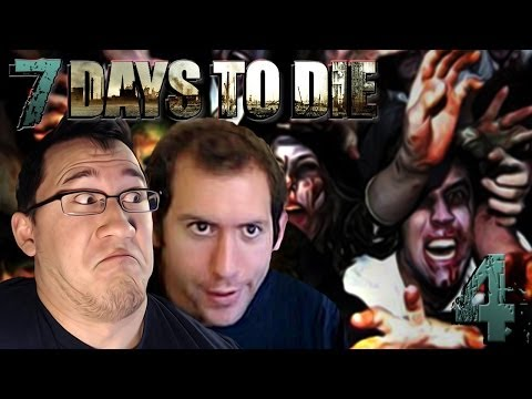 ZOMBIE AMBUSH   7 Days To Die #4 - Smashpipe Games