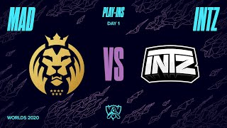MAD vs. ITZ | Play-In Groups | 2020 World Championship | MAD Lions vs. INTZ (2020)