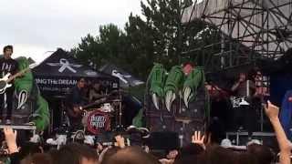 Hell Above- Pierce the Veil (Live Warped Tour Toronto 2015)
