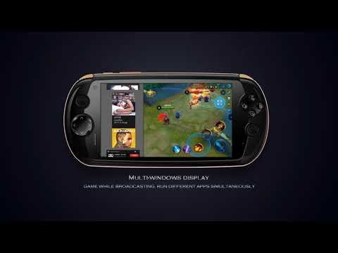 video MOQI i7 Android Gaming Tablet Smartphone