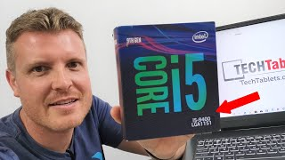 Upgrading My Laptop With A Core i5 9400 Desktop CPU!