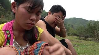 Unique Hand Fishing Catch Big Fish At Mud Pond - Cooking Big Fish For Survive