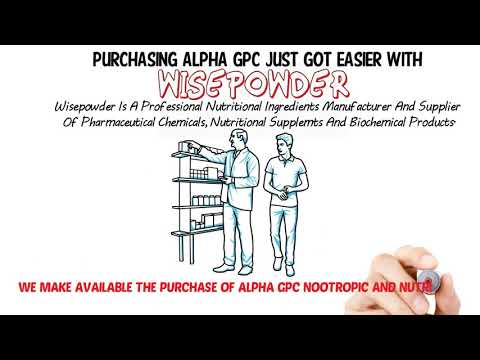 What to pay attention to when purchasing alphagpc bulk powder