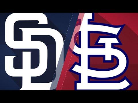 St. Louis Cardinals vs San Diego Padres