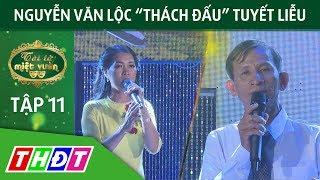 """Vòng so tài: Nguyễn Văn Lộc """"thách đấu"""" Tuyết Liễu   Tài tử miệt vườn   THDT"""