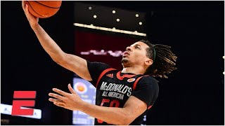 Cole Anthony shines in star-studded McDonald's All-American Game | High School Basketball