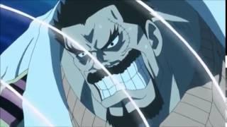 One Piece Garp vs Chinjao the drill EPIC