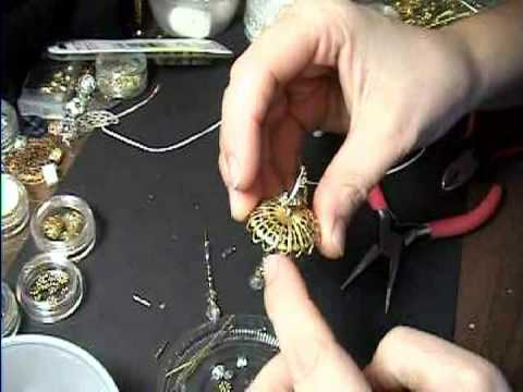 How To Make A Real Working Miniature Chandelier Light For