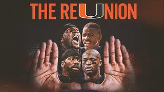 Ray Lewis, Michael Irvin, Reggie Wayne, and Ed Reed reUnite — LIVE from Miami | FOX SPORTS