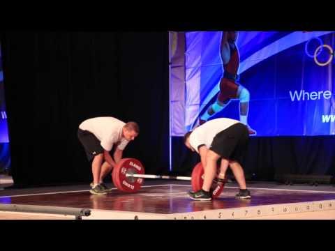 Matt Bergeron 94kg | 2014 USAW National Championships