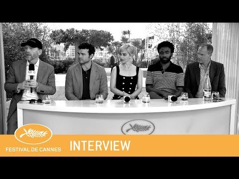 SOLO A STAR WARS STORY - Cannes 2018 - Interview - EV