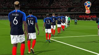 Uruguay vs France | Quarter-Final | FIFA World Cup RUSSIA 2018 Gameplay