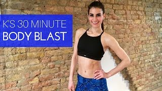 K's 30 Minute Body Blast - Ultimate Fat Burning Workout