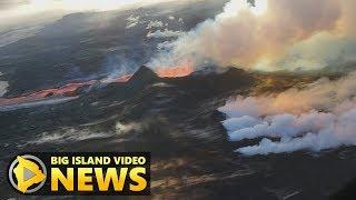 Hawaii Volcano Eruption Update - Friday Night (July 6, 2018)