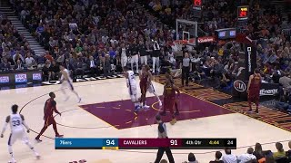 4th Quarter, One Box Video: Cleveland Cavaliers vs. Philadelphia 76ers
