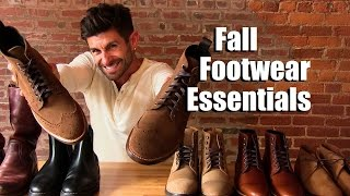 Men's Fall Footwear Essentials | Boots EVERY Guy Needs In His Wardrobe