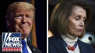 Trump postpones Pelosi's trip, urges her to negotiate