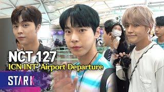 NCT 127, 20190619_ICN INT' Airport Departure (NCT 127, 보정이 필요 없는 비주얼)