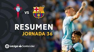 Resumen de RC Celta vs FC Barcelona (2-0)