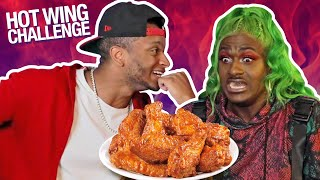 TiTi HOT Wings Challenge feat. Diamond Batiste SUPER FUNNY