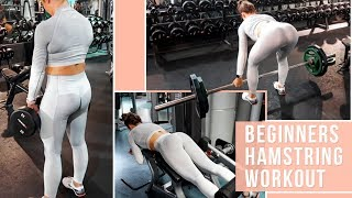 HAMSTRING Workout For Beginners + TIPS