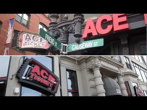 Ace Ticket: Convenient Boston Locations / Free & Easy Pick-up