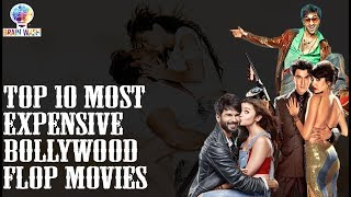 Top 10 Most Expensive Bollywood Flop Movies | Top 10 | Brain Wash