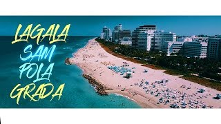 DJ SNS x Natasa Vodenicar - Lagala sam pola grada (Lyric Video 2018)